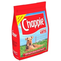 Chappie with Beef & Whole Grain Cereal 15KG
