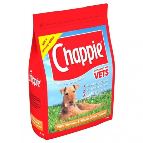 Chappie with Chicken & Whole Grain Cereal 15KG