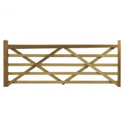 Wooden Gates Left hand 3ft - 14ft