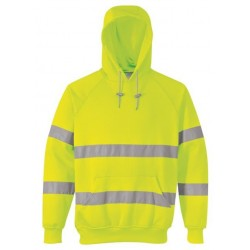 Hi Vis Hoody Yellow