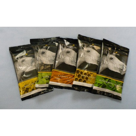Lincoln Horse Bix Horse & Pony Treats Peppermint Pack of 5