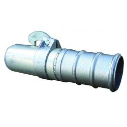 "Male Hosetail Coupling 5""M x 5""H"