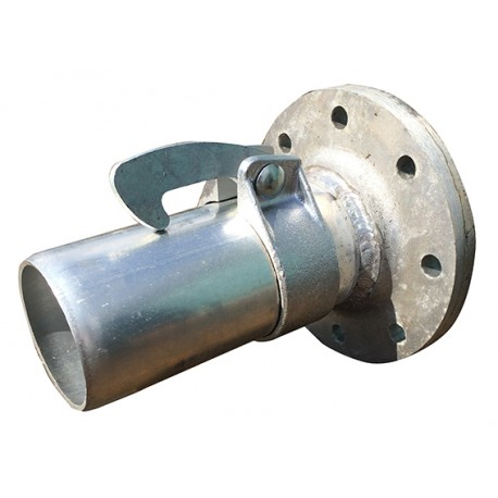 "Flanged Male Coupler 125mm x 5""M"