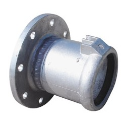 "Flanged Female Coupler 125mm x 5""F"