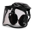 HUSQVARNA Mesh Visor with Ear Muffs