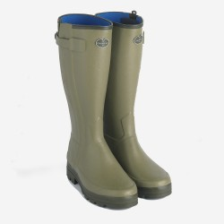 Le Chameau Chasseur Neoprene Lined Zip Wellington Boot