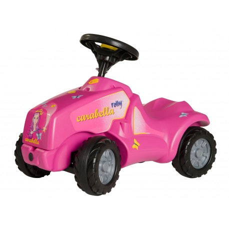 Rolly Toys MiniTrac Pink Princess Carabella with Opening Bonnet