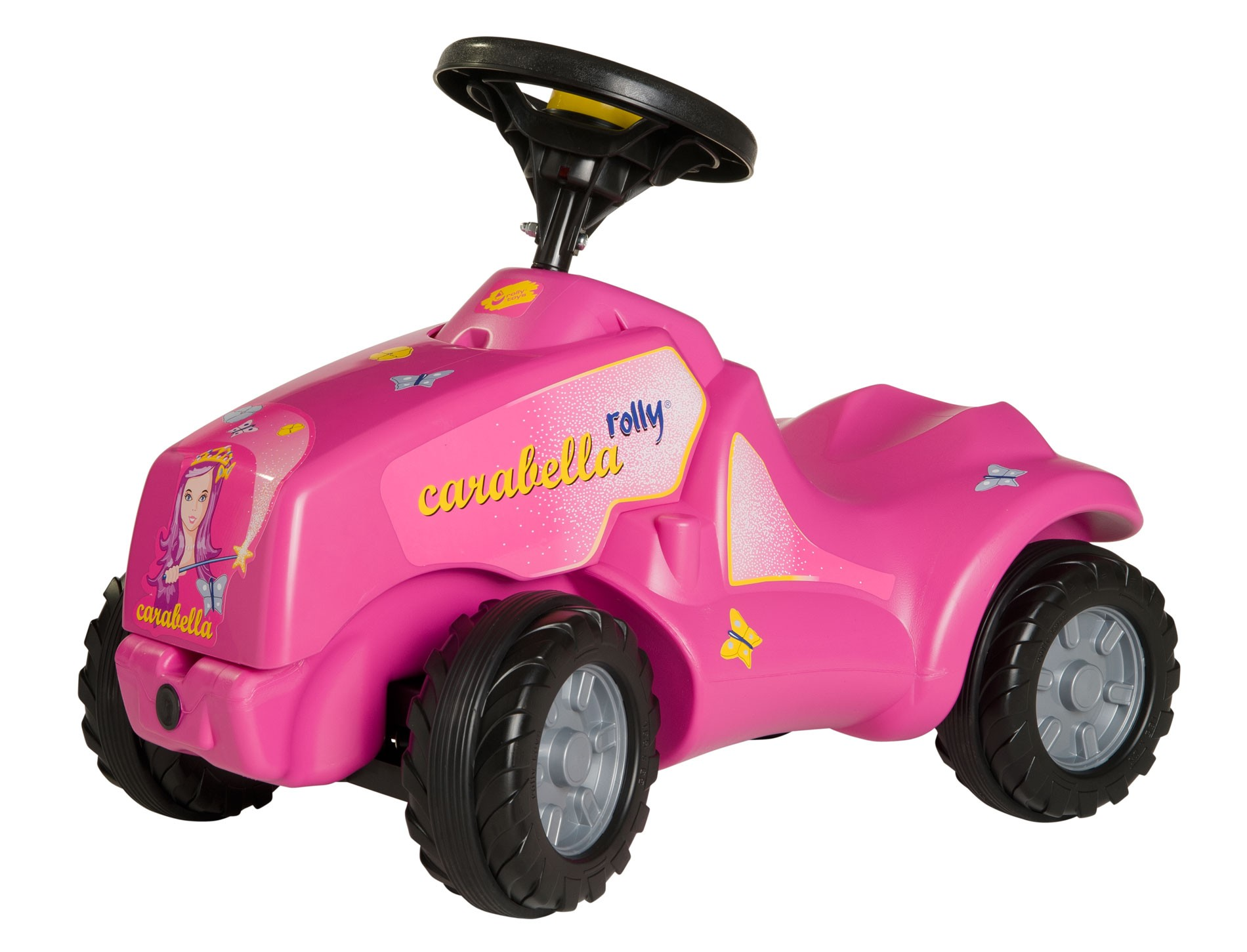 Rolly Toys Minitrac Pink Princess Carabella With Opening