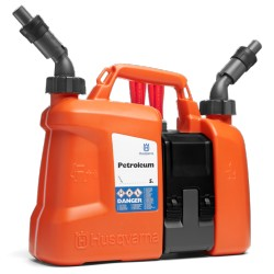 HUSQVARNA Combination Fuel & Oil Canister 5L + 2.5L