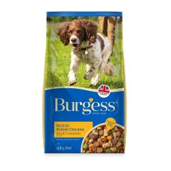 Burgess (Supa Dog) Adult Complete Rich in British Chicken 15KG