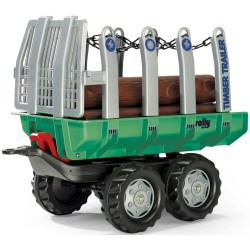 Rolly Toys 122158 Tipping Timber Trailer