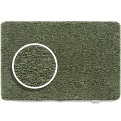 Hug Rug Plain Sage Green Eco Genetics Barrier Mat 50cm x 75cm