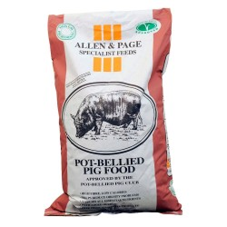 A & P POT BELLIED PIG FOOD 20KG