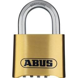 ABUS 180IB/50 Nautic Code Marine Brass Combination Lock