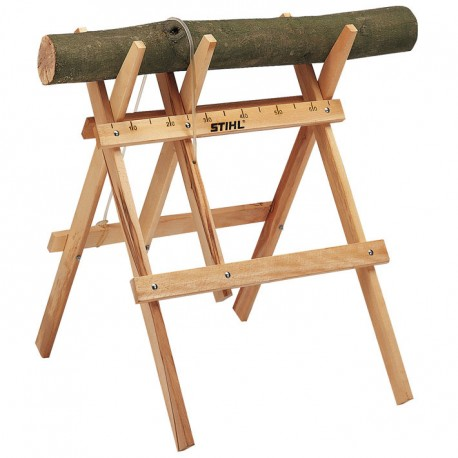 STIHL Wooden Folding Sawhorse