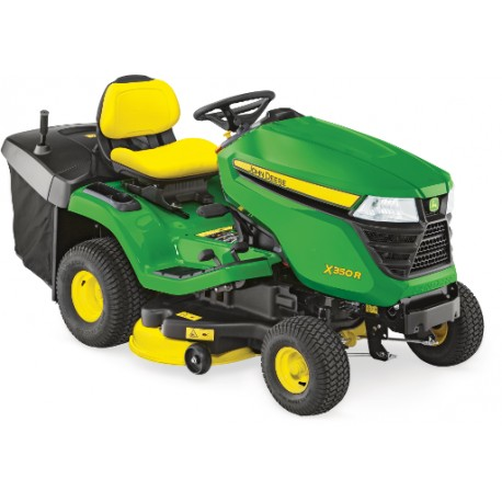 "John Deere X350R Lawn Tractor with 42"" Mower Deck"