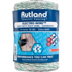 Superwhite Electro-Wire 250m