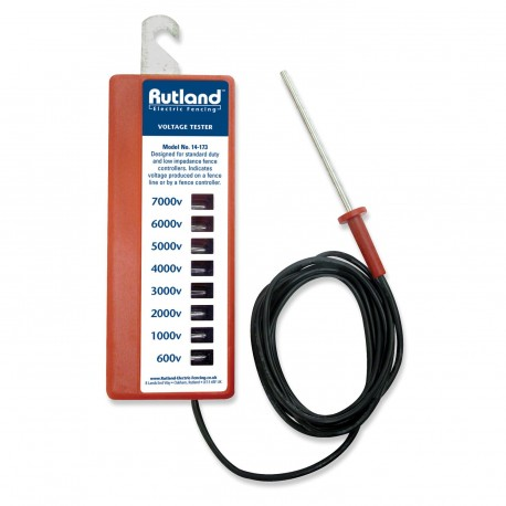 Rutland Electric Fencing Eight-Light Voltage Tester