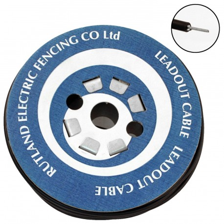Rutland Electric Fencing Lead Out Cable 6mm x 25m