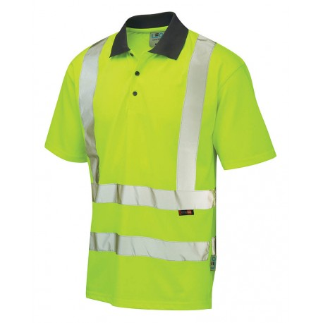 Hi-Visibility Coolviz Polo Shirt Yellow