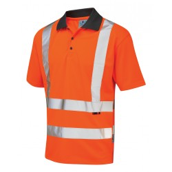 Hi-Visibility Coolviz Polo Shirt Orange