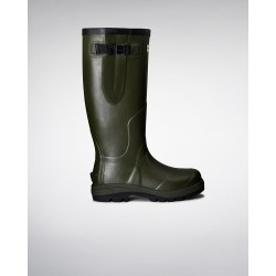 Hunter Balmoral Classic Wellington Boot - Dark Olive