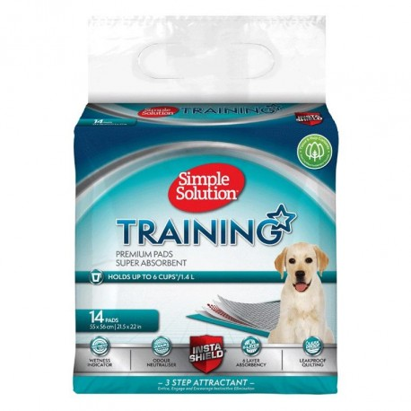 Simple Solution Puppy Training Pads - 14 Pack
