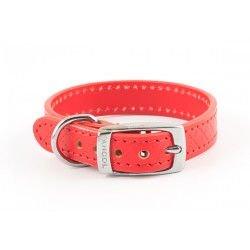 ANCOL Heritage Diamond Leather Collar