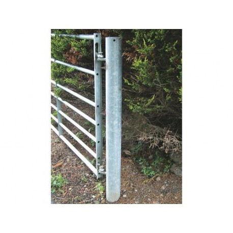 "Galvanised Round Hanging Post 6'6 4.5""D"