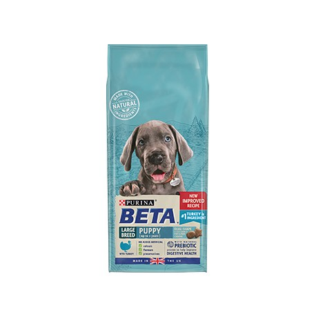 Purina BETA Large Breed Puppy with Turkey 2KG