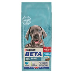 Beta Large Breed Puppy with Turkey 14KG