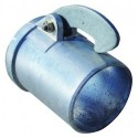 Weld-on Male Coupling 4""