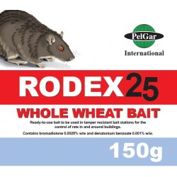 PelGar RODEX 25 Whole Wheat Bait 150g