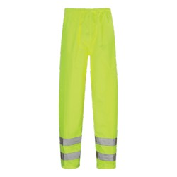 Hawk Hi-Vis Over Trouser Yellow - HVT01