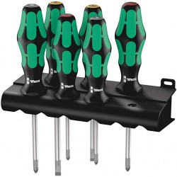 Wera Kraftform 334/355/6 Screwdriver Set (6 piece)