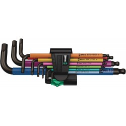 Wera 950/9 Hex-Plus 1 SB Multicolour Metric L-key set (9 pieces)