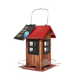 Seed House Feeder Red - Tom Chambers