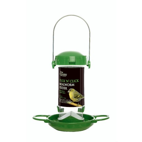 Flick 'n' Click Mealworm Feeder - Tom Chambers