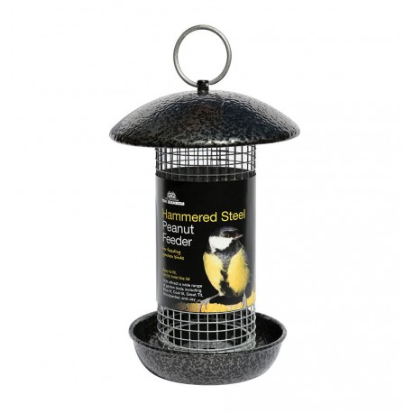 Hammered Steel Peanut Feeder - Tom Chambers