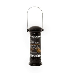 Heavy-duty Flick 'n' Click Suet Pellet Feeder - Tom Chambers