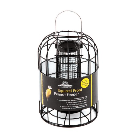 Squirrel Proof Cage Peanut Feeder - Tom Chambers
