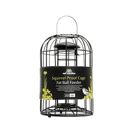 Squirrel Proof Cage Fat Ball Feeder - Tom Chambers