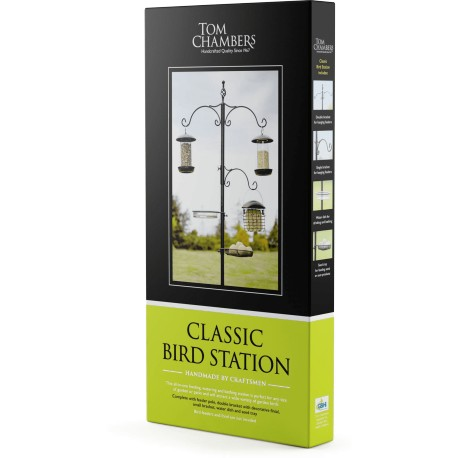 Classic Bird Feeding Station - Tom Chambers