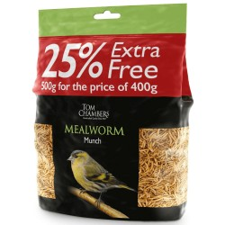Mealworm Munch 500g - Tom Chambers