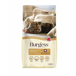 Burgess Adult Cat Chicken & Duck Food 1.5kg