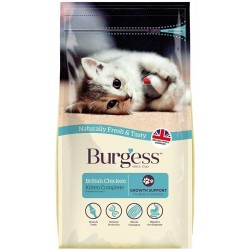 Burgess Kitten Complete British Chicken 1.5kg
