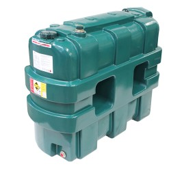 1200L Single Skin Oil Tank with Gauge
