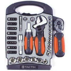 TACTIX 55 Piece Stubby Toolset
