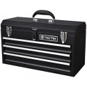 "TACTIX Steel 3 Drawer Toolbox 52cm (20.5"")"