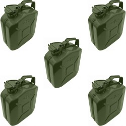 Box of 5 Standard 5L Jerry Can